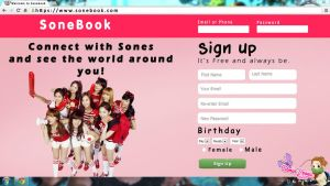 SoneBook by YoonAsGeneration