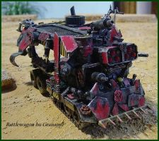 Battle wagon by Granamir by Granamir