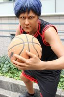 Aomine- Get in the Zone by Ruxtano