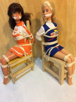 Two silenced cheerleaders by angelstied