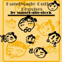 HandMade Cutie Brushes by sunset-gin-stock