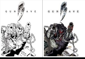 GUNGRAVE side by side by PIXEL-Of-DOOM