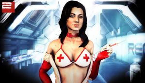 Miranda Lawson Nurse by TruePrince