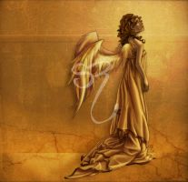 Angel of Gold by PlaidTidings
