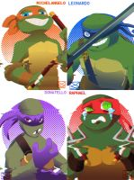 Reverse Turtles by mellow-monsters