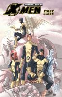 X.Men First Class: Sentinels by BrunaBrito
