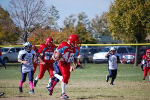 #42 running for a touch down by Ramsey06