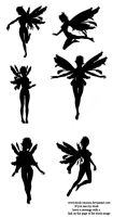 Fairy Silhouette by stock-cmoura