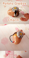Potato Glados Charm by Shattered-Earth