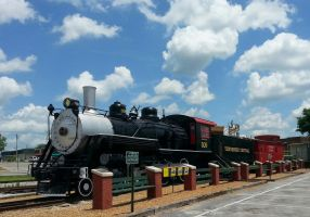 Train Display at the Cookeville Depot Museum by railguy365