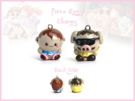 Porco Rosso Charms by FlyingPandaGirl