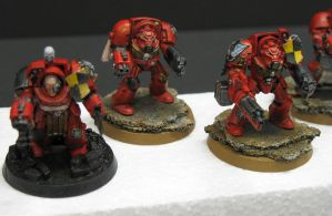 40K Blood Angels Tactical Terminators 2 by Budsky
