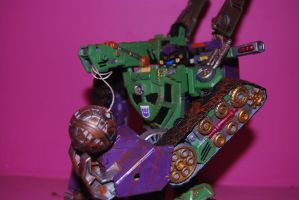 war for cybertron hook 10 by Shenron-Customs