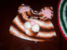 Calico Kitty hat by Nanettew9