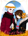 Flower you today sweetheart?-Flowerfell/Overgrowth by darkflames09