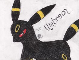 Umbreon by Snapefan83