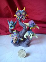 Legend of Zelda :Majoras Masks BOSSES by Clockwerk97