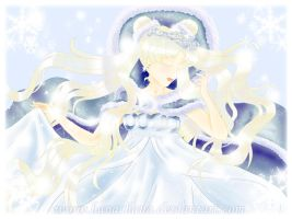 Snow Queen Serenity by banachana