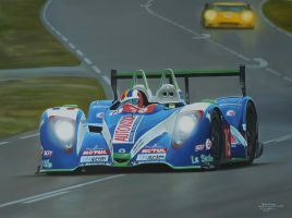 Julien Jousse in the Pescarolo Judd at LeMans 201 by huckerback6