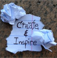 Create and Inspire by HarmsWayApparel