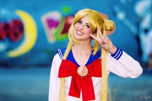 Sailor Moon Usagi Tsukino by PervincaCosplay