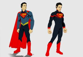 Superman redesign by klavious5