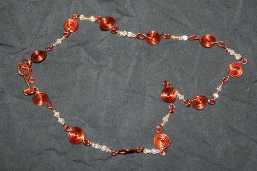 Autumn collection - necklace by KlaraG