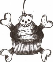 Death Cupcake by cxloe