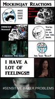 Reactions to Mockingjay by MichelleTheVampGirl