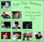Top Ten Hottest Blokes by AnnaStrife0211