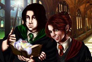 That's beautiful, Severus...(finished) by Tsuki-Yue