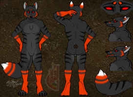 COMMISSION:Blackstripes Ref by TheHuntingWolf
