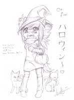 B-Day Gift: On for Halloween by PuschelPanda