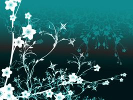 Flower wall vector wossit by HungrySeahorse