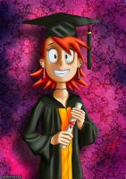 Frankie's Grad Photo by Kroizat