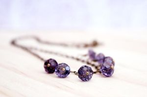 Lavender. Necklace. by earthexpressions