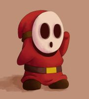 Mario Kart 7 Shy Guy by JoyceLee