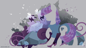 Maud Pie Silhouette Wall by SpaceKitty