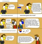 Ask The Yoshis Ep. 1 by gamerpainter