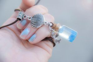 Mermaid Abyss Necklace by IvrinielsArtNCosplay