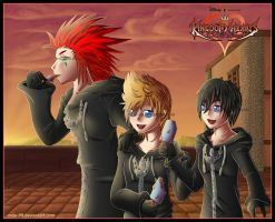 Kingdom Hearts 358-2 Days. by MiLe-08