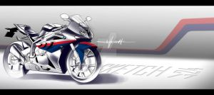 BMW 1000 RR by magao
