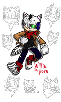 White the Tiger (Character info in desc) by JJpros
