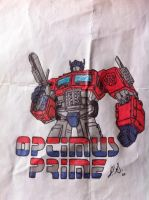 Optimus Prime by jpsimpson81