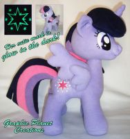 My Little Pony Twilight Sparkle Alicorn Plush by GraphicPlanetDesign