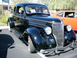 1936 Ford V8 coupe by RoadTripDog