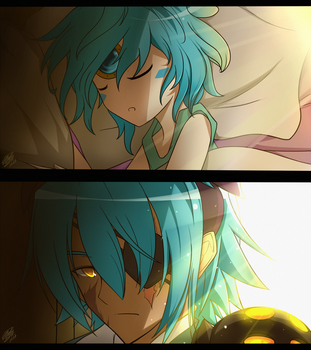 [Elsword] Father - Daughter by ClairSH