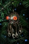Steampunk Octopus Ornament by CatherinetteRings