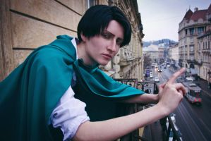 City - Levi cosplay by Jiosan