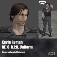 Kevin Ryman RE:O R.P.D. Uniform by Adngel